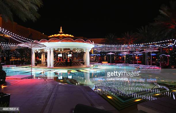 Encore las vegas stock photos and pictures getty images for Pool trade show vegas