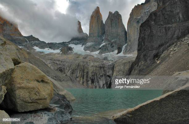 View of the Torres del Paine National Park