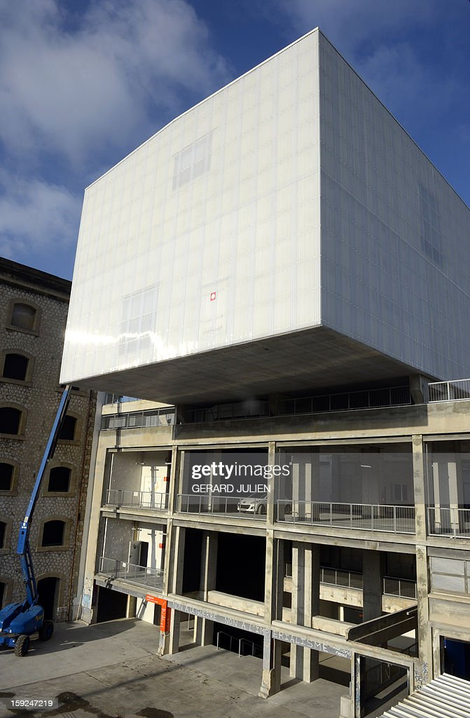 A view of the Tour-Panorama, part of the 'Friche de la Belle de Mai' cultural area on January 10, 2013, one of a number of spaces devoted to cultural events built in conjunction with Marseille being named 2013 European capital of culture. On January 12, the city will be named capital of culture which will kick off a range of exhibitions and events. JULIEN