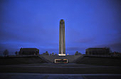 View of the tower atop the National World War I Museum on December 16 2014 in Kansas City Missouri