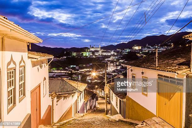 View of the town from Rua (street) Santa Efigenia