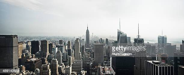 View of the town with the Empire State Building