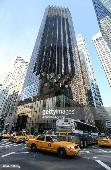 Trump Tower Stock Photos And Pictures Getty Images