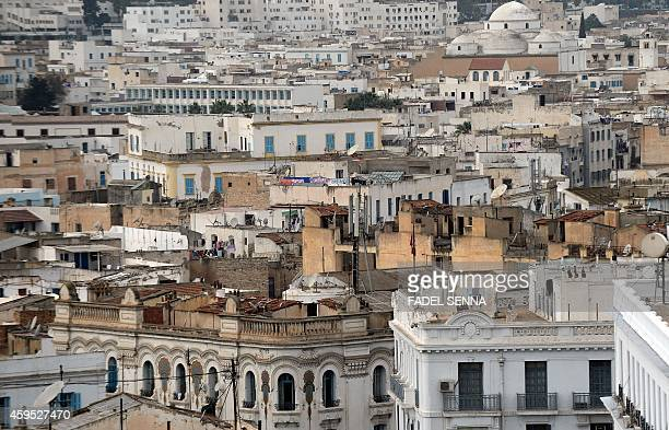 A view of the Tunisian capital Tunis on November 24 2014 AFP PHOTO/FADEL SENNA