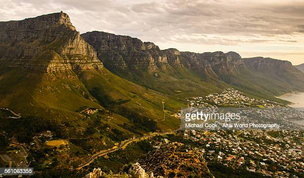 View of the Twelve Apostles from Lions Head