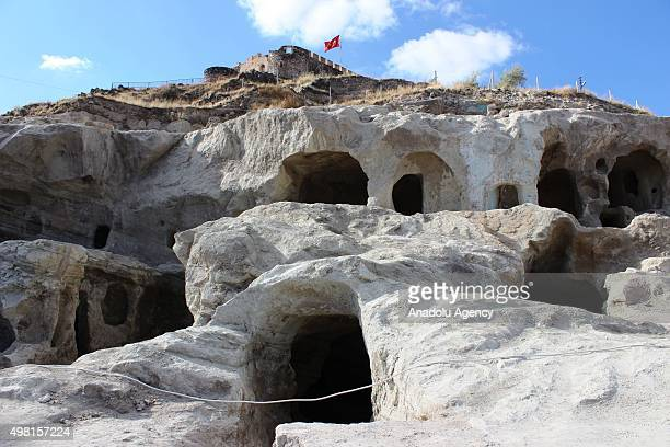 A view of the underground city newly discovered during a construction works in Central Anatolian province of Nevsehir Turkey on November 21 2015