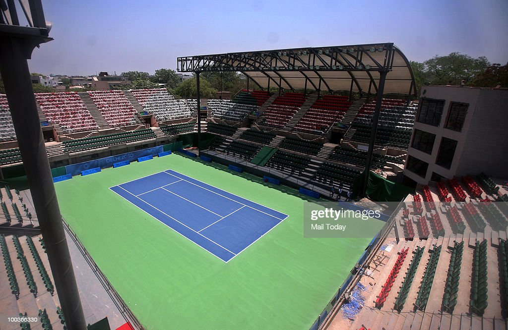 RK Khanna Tennis Stadium Gets Upgraded