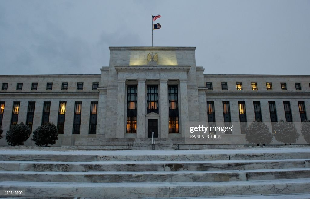 A view of the US Federal Reserve January 27 2015 in Washington DC AFP PHOTO / KAREN BLEIER