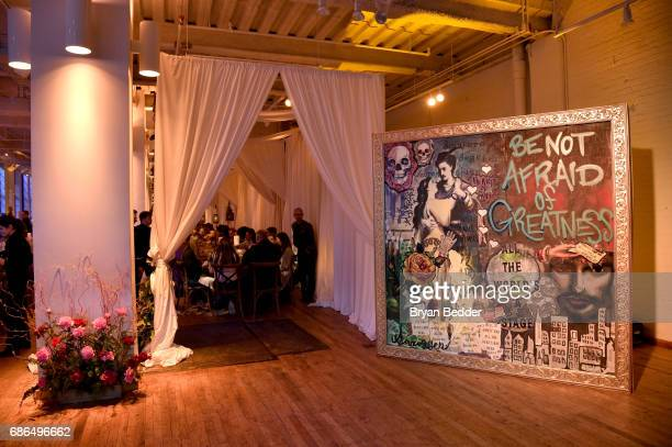 A view of the venue TNT's Will Dinner By Toro's Chef Jamie Bissonette presented by TNT'S Supper Club at West Edge on May 21 2017 in New York City