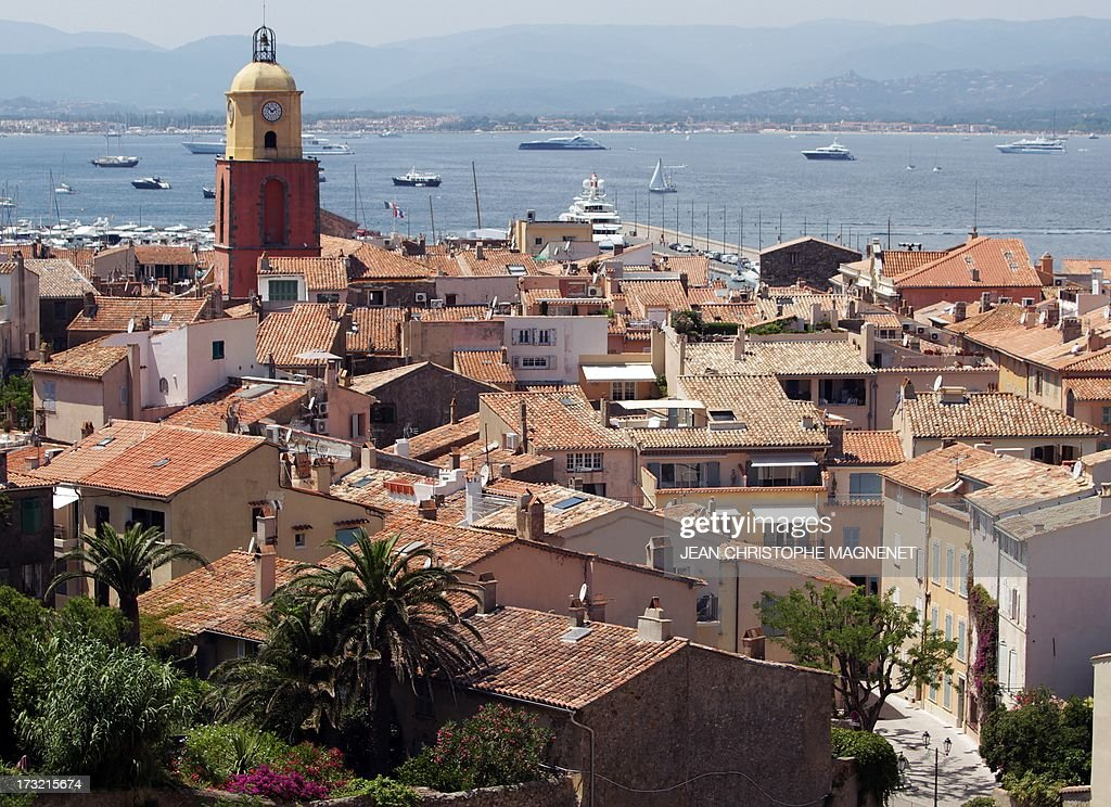 A view of the village of SaintTropez on July 10 southeastern France AFP PHOTO / JEAN CHRISTOPHE MAGNENET