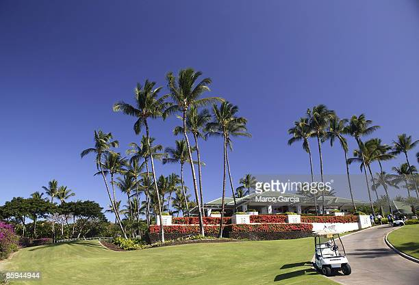 A view of the Wailea Golf Clubhouse during the PGA TOUR's Wendy's Championship Skins Game February 6 2006 at the Wailea Golf Club in Wailea Maui...