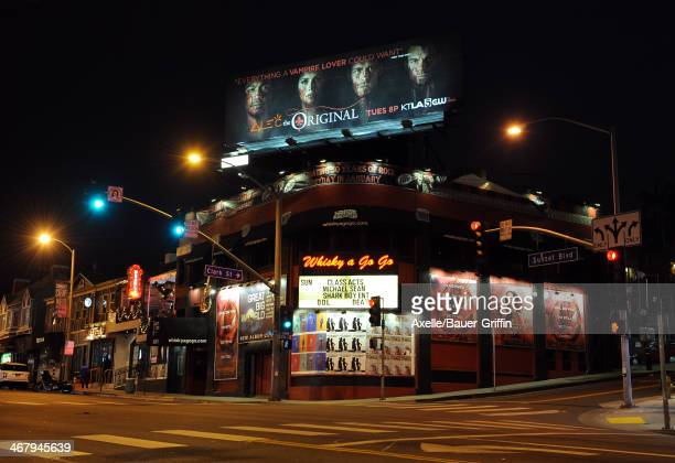 A view of the Whisky a Go Go in West Hollywood on February 02 2014 in Los Angeles California