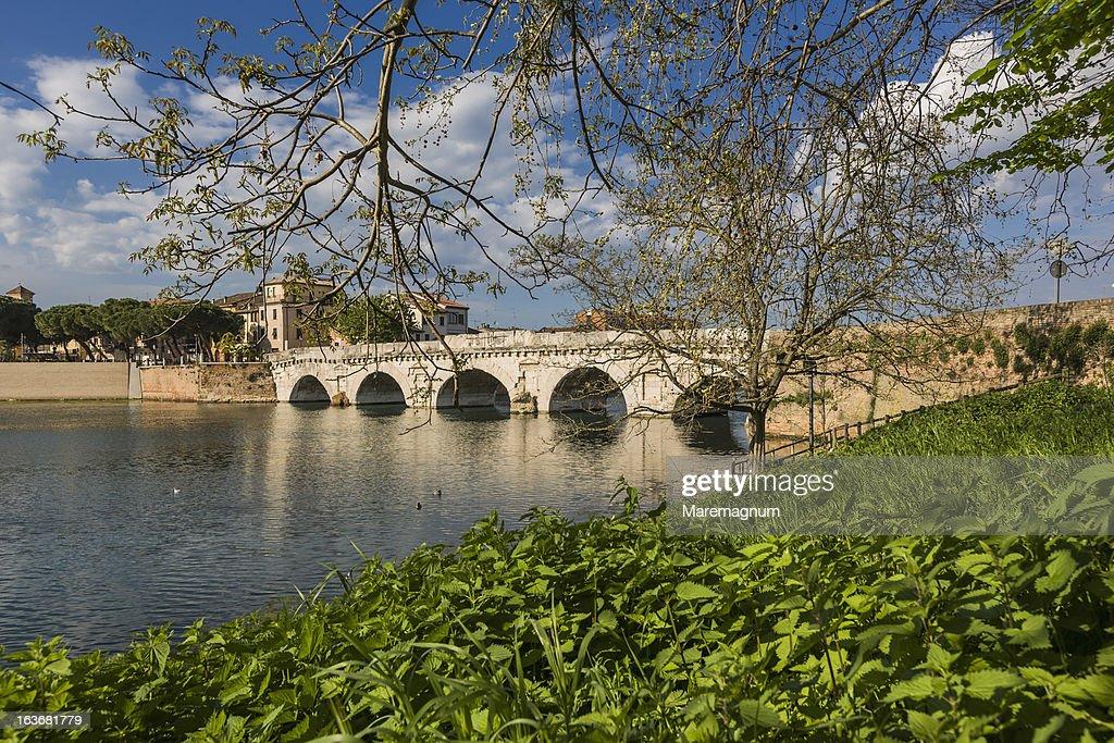 View of Tiberio Bridge