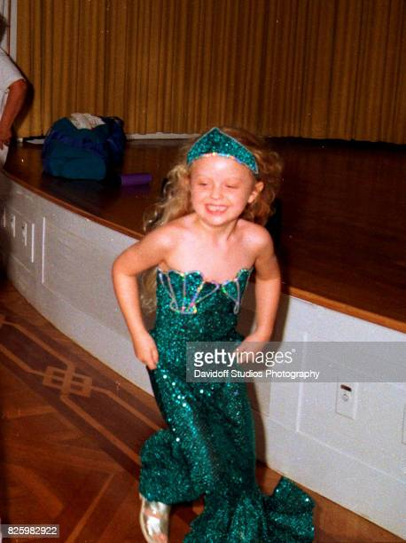 View of Tiffany Trump during her fifth birthday party at the MaraLago estate Palm Beach Florida October 13 1998