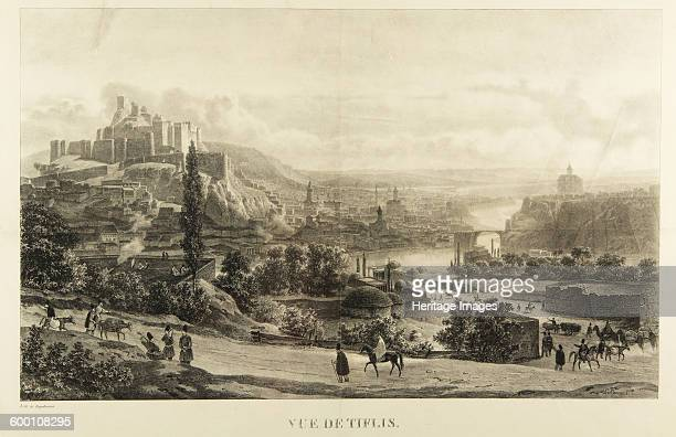 View of Tiflis 1830s Private Collection Artist Engelmann Godefroy