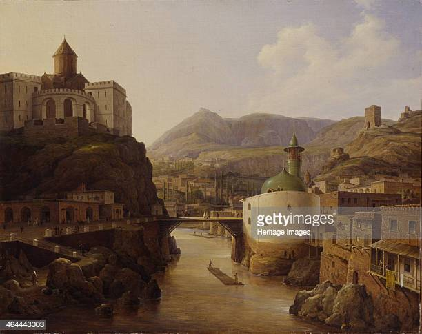View of Tiflis 1839 Found in the collection of the Institut of Russian Literature IRLI St Petersburg
