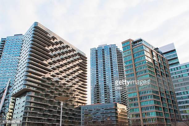 View of tower blocks , New York, USA