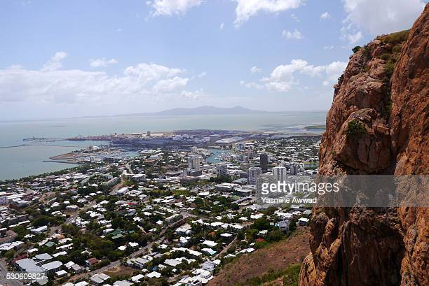 View of Townsville from Castle Hill, Australia