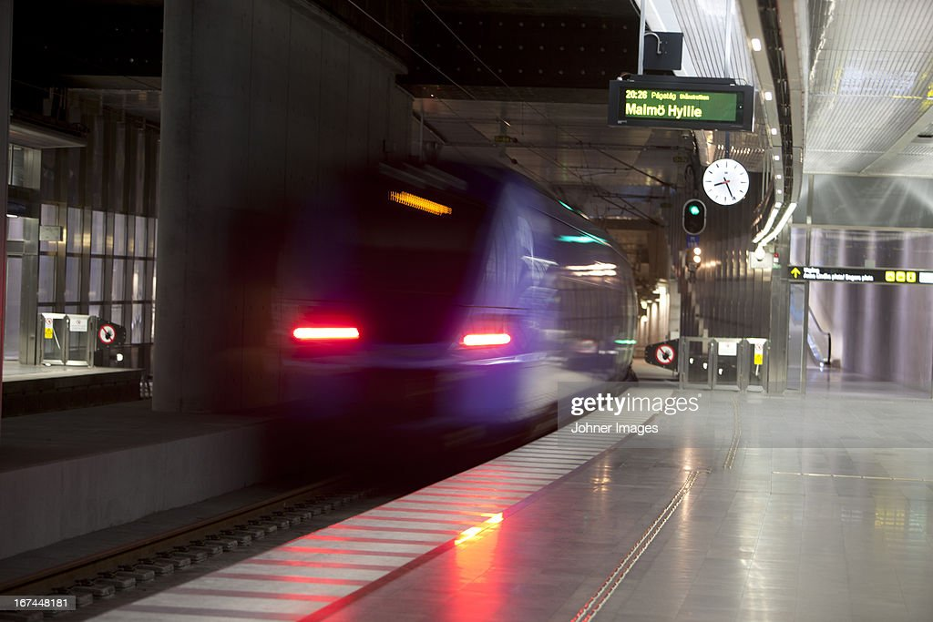 View of train station : Stock Photo