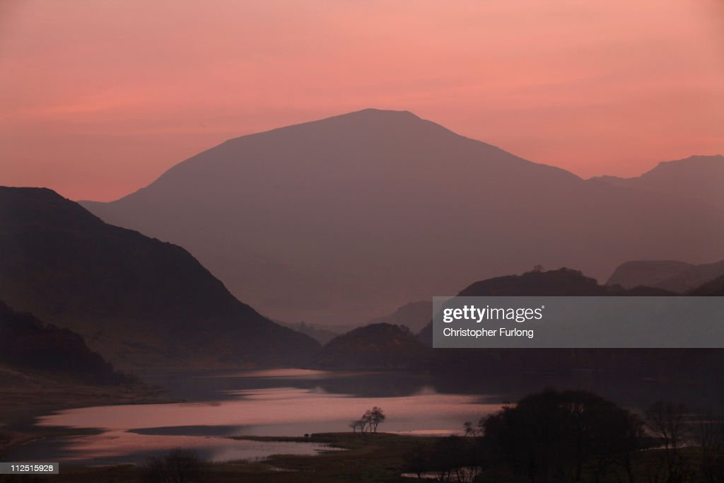 A view of tranquil Llyn Dinas in Snowdonia National Park on March 24 2011 in Bethania Wales The National Trust is launching a GBP1 Million appeal to...