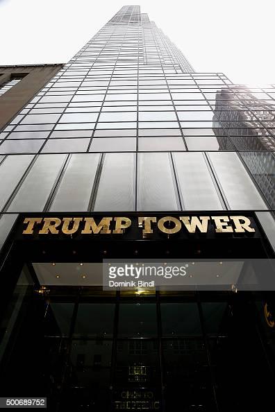 Trump Tower Fifth Avenue Manhattan Stock Photos And