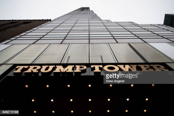 A view of Trump Tower March 7 2017 in New York City In a series of tweets on Saturday morning President Donald Trump accused former President Barack...