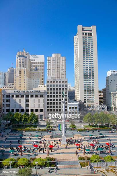View of Union Square, San Francisco