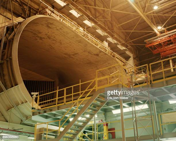 view of upper deck at Langley Full-Scale Wind Tunnel
