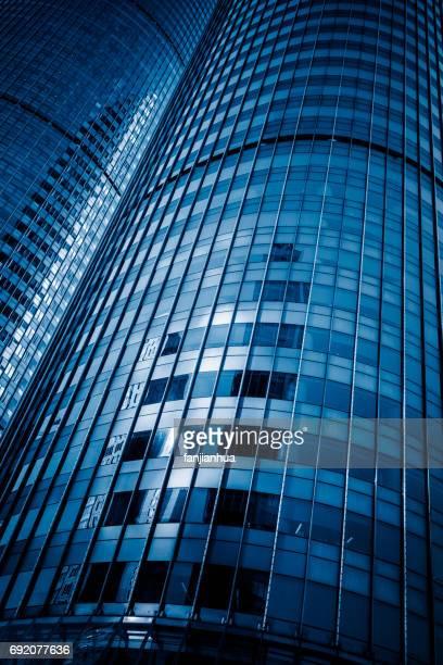 view of urban architecture,detail shot of Shanghai landmarks
