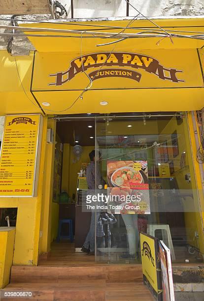 View of Vada Pav Junction Restaurant at Satya Niketan in New Delhi