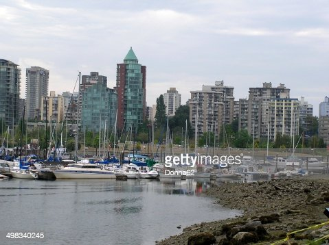 View of Vancouver from Stanley Park Seawall