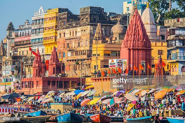 Auf Varanasi Indien