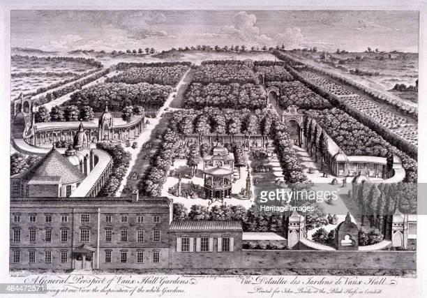 View of Vauxhall Gardens Lambeth London 1751