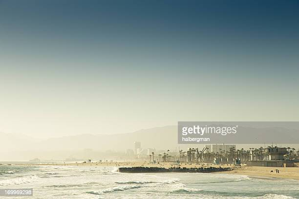 View of Venice Beach from the Pier
