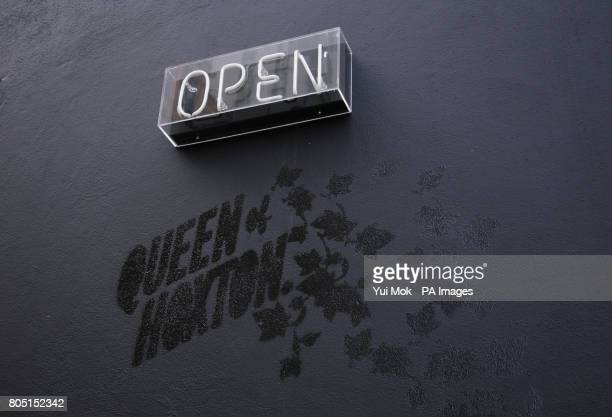 A view of venue 'The Queen of Hoxton' on 1 Curtain Road Shoreditch east London Saturday 8 August 2009 PRESS ASSOCIATION
