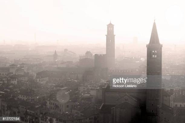 View of Verona in the afternoon, Italy