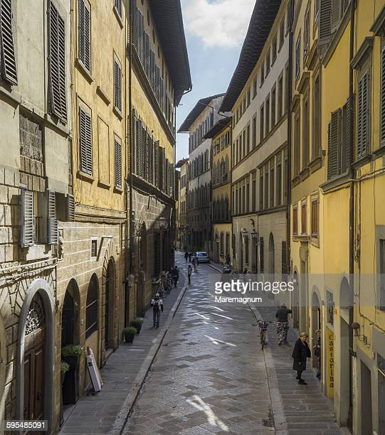 View of Via (street) Santo Spirito