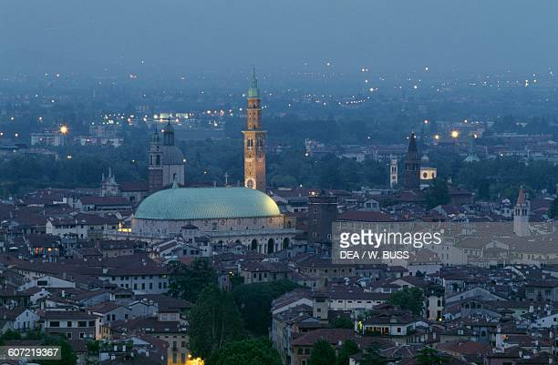 View of Vicenza and the Basilica Palladiana by Andrea Palladio from Mount Berico Veneto Italy 16th17th century