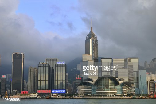 View of Victoria harbour