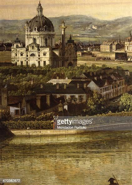 'View of Vienna from the Belvedere by Bernardo Bellotto 17591760 XVIII century oil on canvas 135 x 213 cm Austria Vienna Kunsthistorisches Museum...