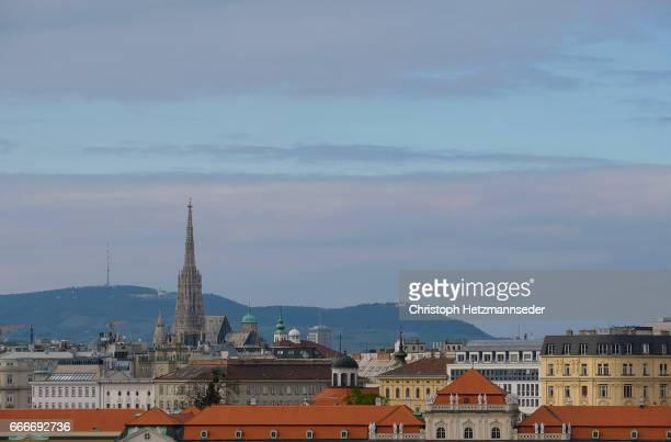 View of Vienna inner city.