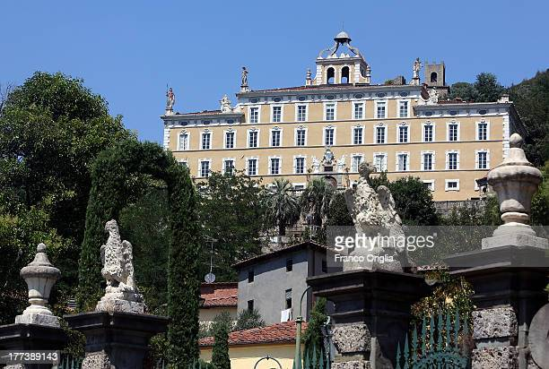 A view of Villa Garzoni and the garden on August 10 2013 in Collodi Pistoia The town is proud of this jewel and its famous personality Carlo...