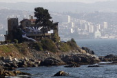 A view of Vina Del Mar city during the 52th International Song Festival on February 22 2011 in Vina Del Mar Chile