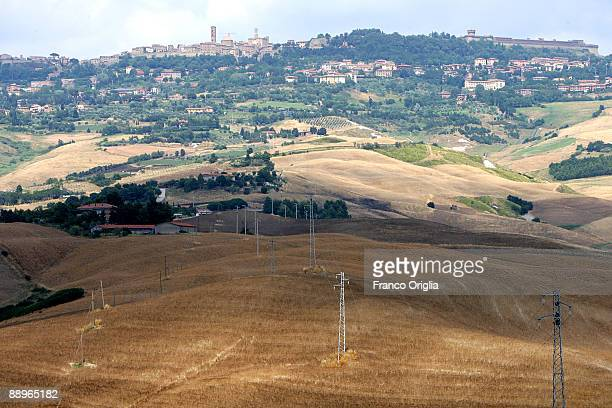 A view of Volterra on June 29 2009 in Volterra Italy One of the main chapters of 'New Moon' novel is set in Volterra Tuscany 'New Moon' is the second...