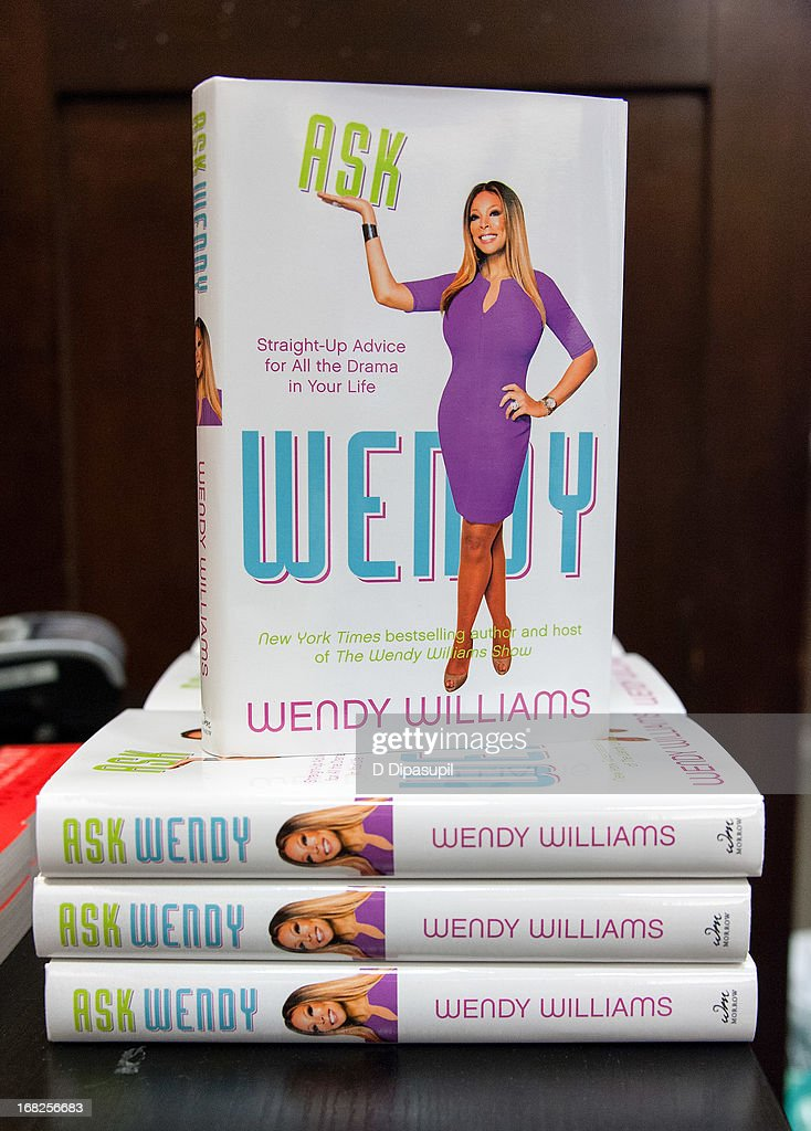 A view of Wendy Williams' book 'Ask Wendy' at Barnes & Noble Tribeca on May 7, 2013 in New York City.