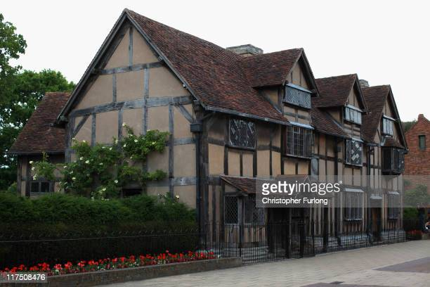 A view of William Shakespeare's birthplace on June 27 2011 in StratforduponAvon England StratfordUponAvon the birthplace of William Shakespeare and...