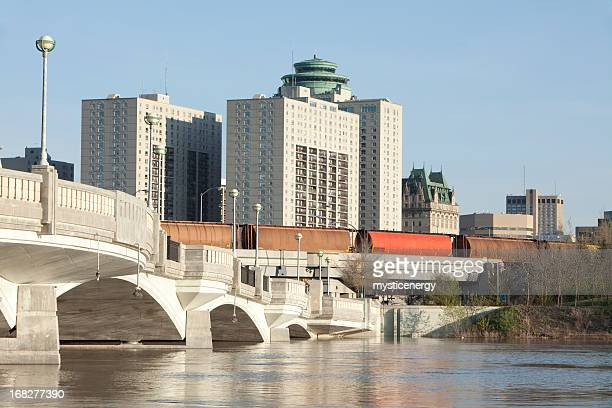 A view of Winnipeg during the daytime