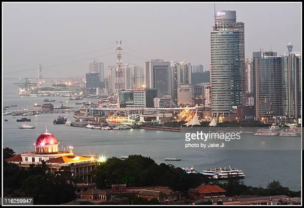 View of Xiamen downtown