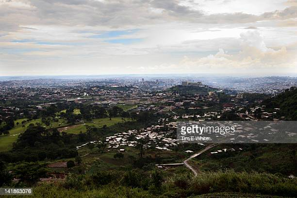 View of Yaounde Cameroon