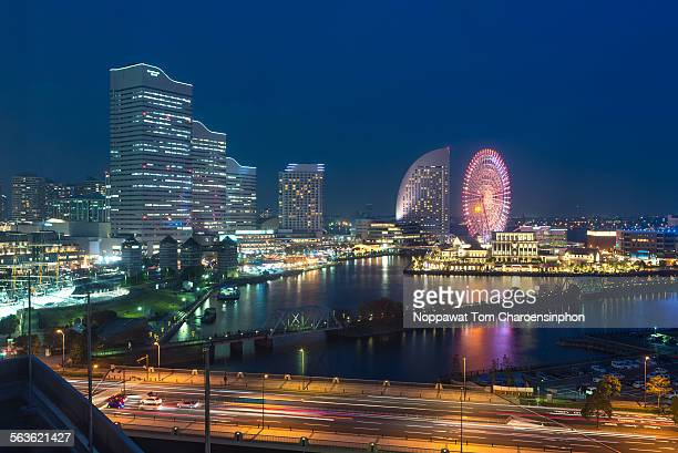 View of Yokohama Japan